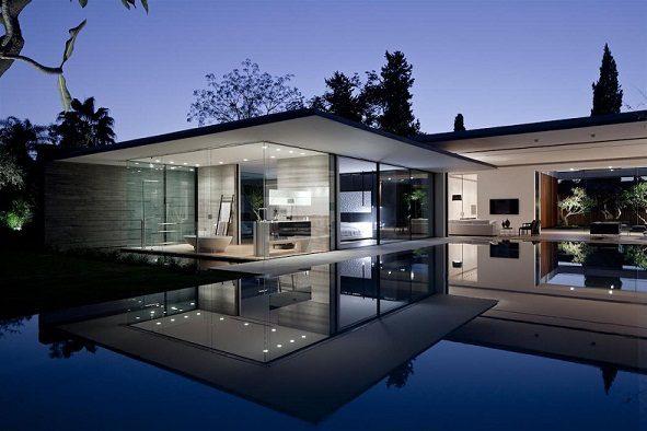 El dise o modular de una casa de acero y hormig n for Casas de diseno de famosos