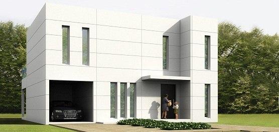 exterior de casas modulares prefabricadas de Aplihorsa