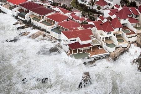 huracan irma arrasa la isla san martin
