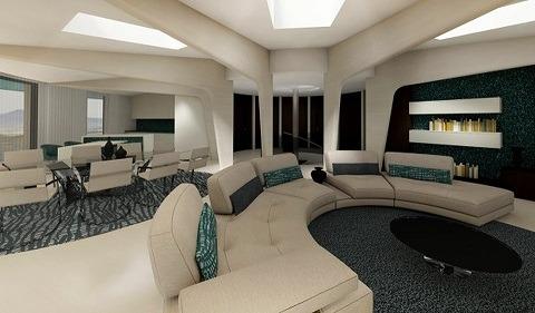 interior de la Sunhouse 360