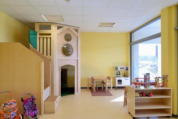 interior escuela infantil