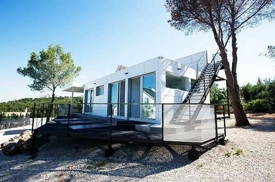 las viviendas prefabricadas ofrecen construcción y sostenibilidad