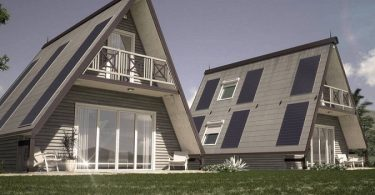 Una casa construida en solo 5 horas en cualquier lugar