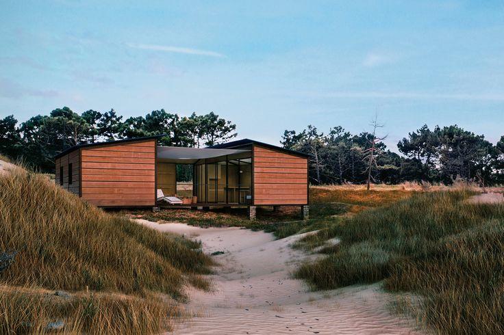 La casa de la playa Louis Vuitton