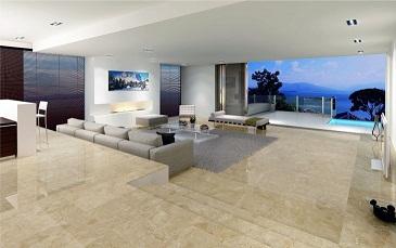 mansion prefabricada de Antonio Bnaderas