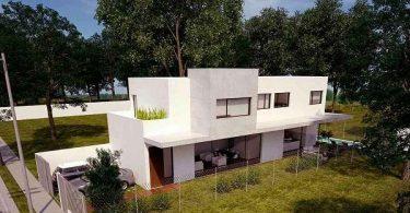 otra casa prefabricada con hormigos armado