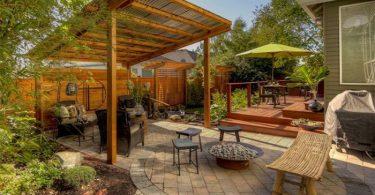 porches de madera prefabricados