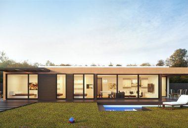 que techo elegir para una casa prefabricada