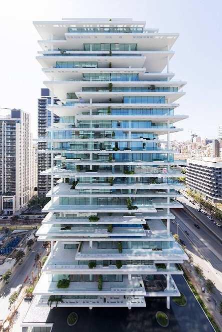 de construcción de viviendas y rascacielos prefabricados en Singapur mediante impresión 3D